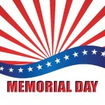 Memorial Day button