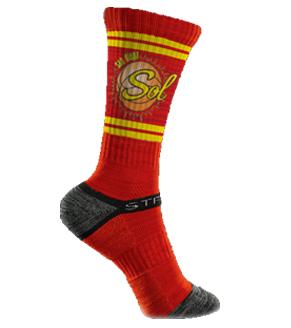 Sol strideline socks red