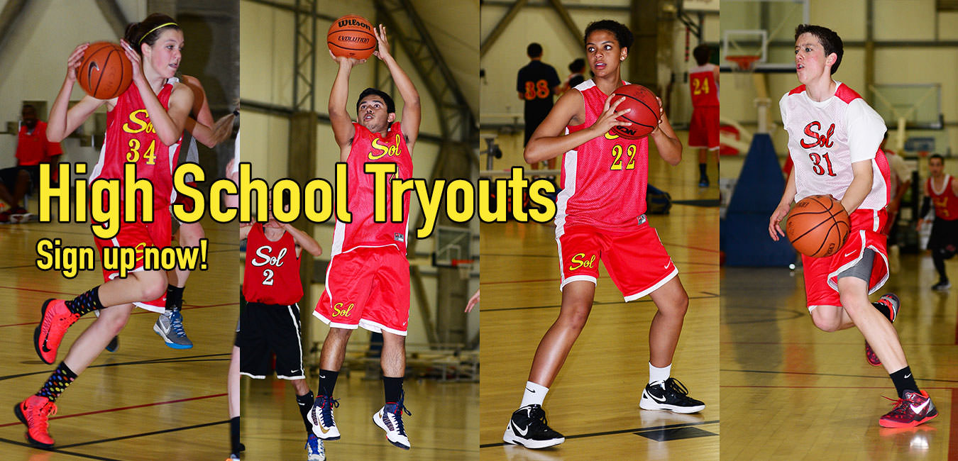 Basketball High School Tryouts